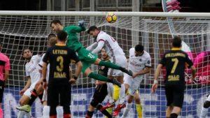 Benevento Calcio, il portiere Brignoli fa la storia contro il Milan