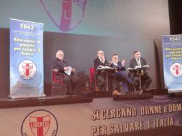 Convegno Dc Campania, presentato il programma elettorale