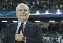 "Calcio Napoli, De Laurentiis: ""Quattro ipotesi per il nuovo stadio"""