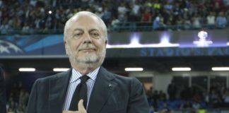 "Calcio Napoli, De Laurentiis: ""Ancelotti a vita come Ferguson"""