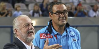 Calcio Napoli, terminato l'incontro tra Sarri e ADL: filtra ottimismo