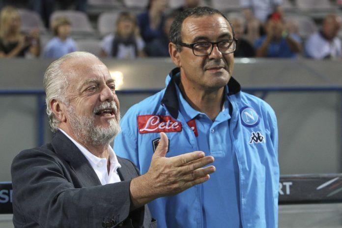 Calcio Napoli, durante la sosta incontro decisivo per il rinnovo di Sarri