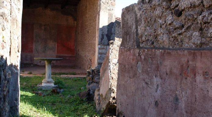 Cronaca di Napoli, scavi di Pompei: crolla muro nella domus Caccia ai tori