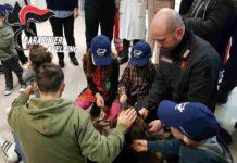 Solofra, unità cinofila dei Carabinieri in festa per i bimbi dell'ospedale Landolfi
