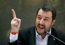"""Salvini: """"Ovunque si candiderà Renzi ci sarò anch'io"""""""