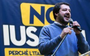 Roma, Salvini in piazza contro lo Ius Soli