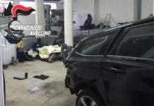 Irpinia news. Marzano di Nola, scoperta centrale per il riciclaggio di auto rubate