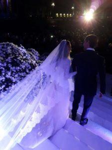 A Napoli nozze da favola per Angela Ammaturo e Francesco Rossi Guarnera