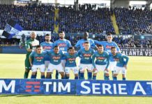 Calcio Napoli: un Napoli solidissimo vince a Bergamo con un gol di Mertens