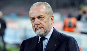 """Calcio Napoli, De Laurentiis: """"Il calcio italiano va demolito"""""""