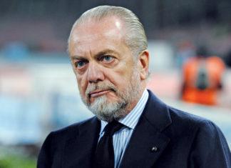 """Calcio Napoli, ADL: """"Altri club sottoposti ad autorità Juve. Sarri? Vedremo"""""""