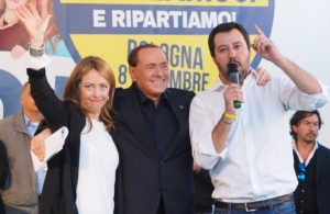 Centrodestra, vertice ad Arcore Berlusconi-Salvini-Meloni