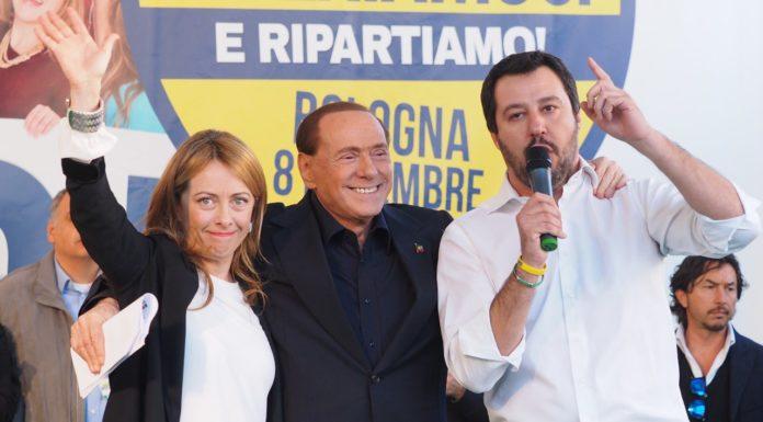 """Matteo Salvini in conferenza stampa: """"Il governo tocca a noi di centrodestra"""""""
