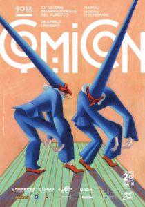 Comicon compie 20 anni: dal 28 aprile alla Mostra D'Oltremare