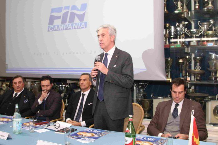 La Federazione Italiana Nuoto premia le società e atleti campani 2017