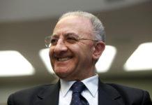 "Regione Campania, De Luca: ""Piano di sei miliardi per i trasporti"""