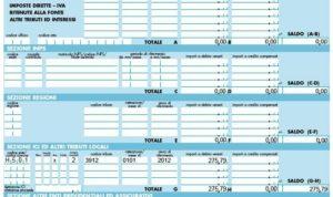 Spesometro, credito d'imposta e nuovi codici tributo