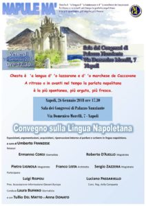 Il napoletano è una lingua e un convegno a Napoli lo ribadisce