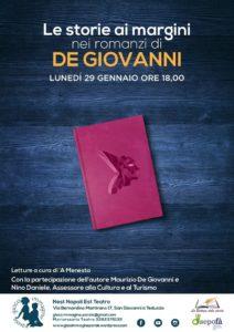 """Storie ai margini: Maurizio De Giovanni presenta """"Souvenir"""" al NEST"""