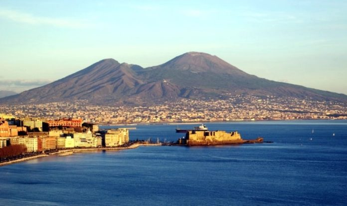 Vesuvio, la sequenza degli incendi su Google Earth Storia