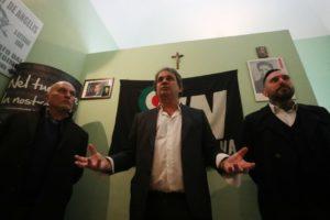 Palermo, dirigente di Forza Nuova legato e picchiato in strada