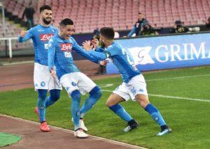 """Calcio Napoli, Sarri esalta gli azzurri: """"Che gusto vederli dall'alto"""""""