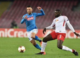 Europa League: un Napoli senza voglia ed anima cade col Lipsia 3-1 al San Paolo. Primo gol in azzurro per Ounas