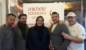 """Successo per il """"Pizza Show"""" da Michele Condurro alla Riviera"""