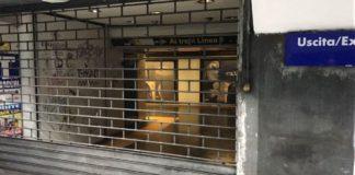 ANM, Linea 1 Metropolitana: treni fermi un giorno su sette