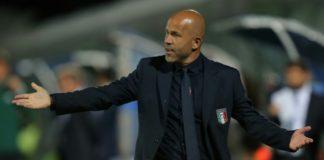 Nazionale italiana di calcio, Di Biagio CT con Argentina e Inghilterra