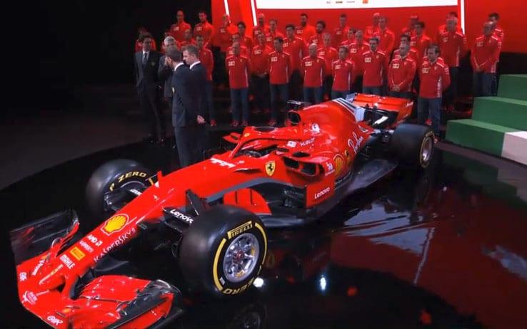 Formula 1, presentata a Maranello la nuova Ferrari SF71H