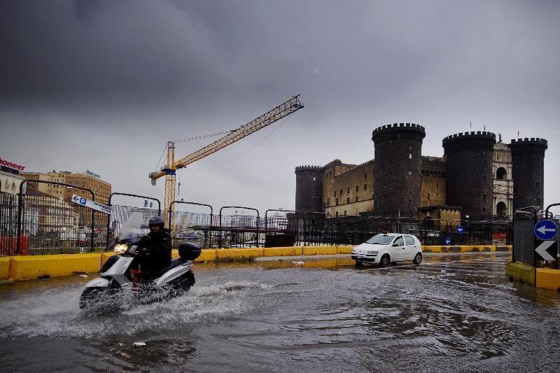 Napoli, Protezione Civile: Allerta maltempo per le prossime 48 ore