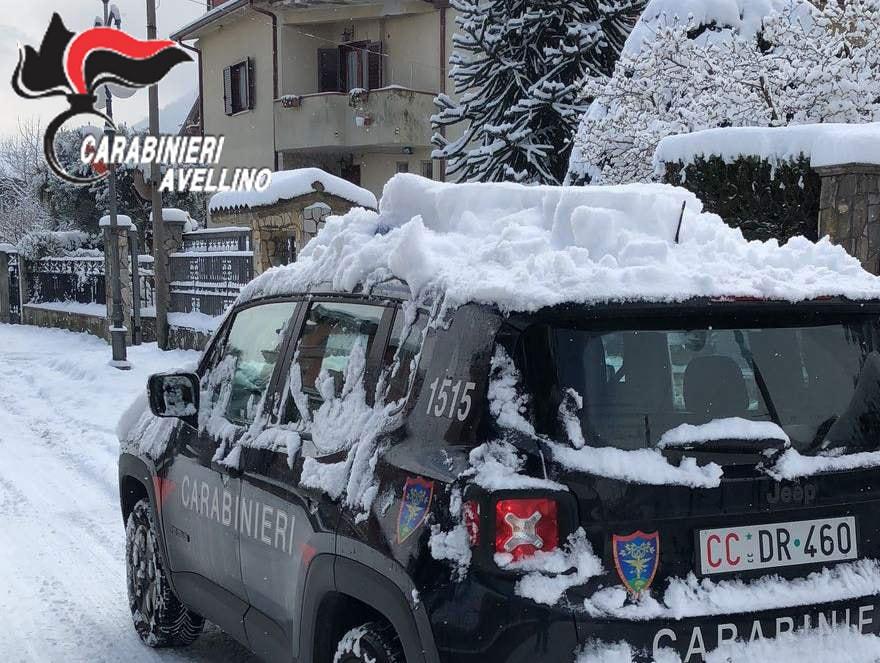 Allerta meteo Campania: ritorna la neve e ghiaccio sulle strade