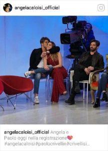 Anticipazioni Uomini e Donne. Paolo Crivellin e Angela Caloisi ritornano in studio