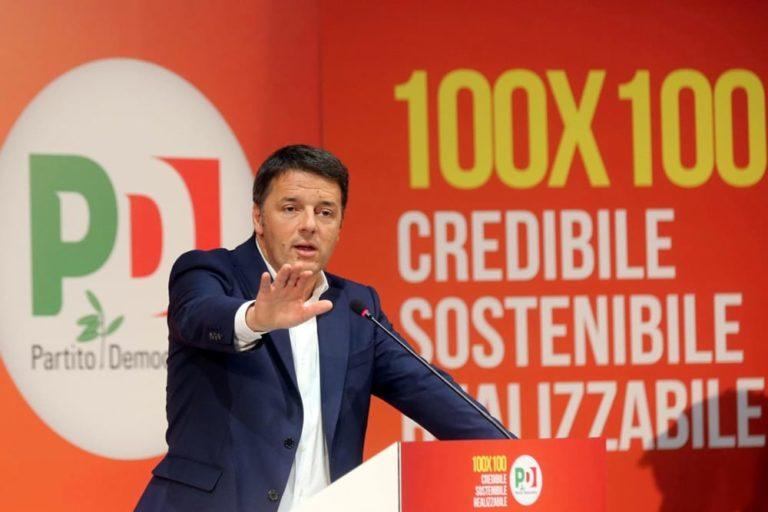 Renzi a Pomigliano: i sindacati preparano manifesti funebri