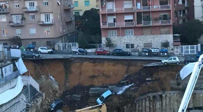 Voragine a Roma, sgomberate due palazzine: in corso controlli