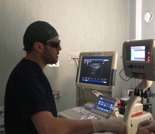Noduli tiroidei: sperimentata una nuova terapia laser