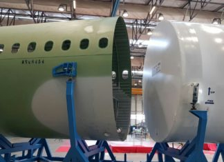 Leonardo, Nola: consegnata ad Airbus la versione A321 sezione 14 ACF