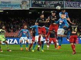 """Serie A, il Calcio Napoli a -2 dalla Juve. Sarri: """"Fino al Palazzo"""""""