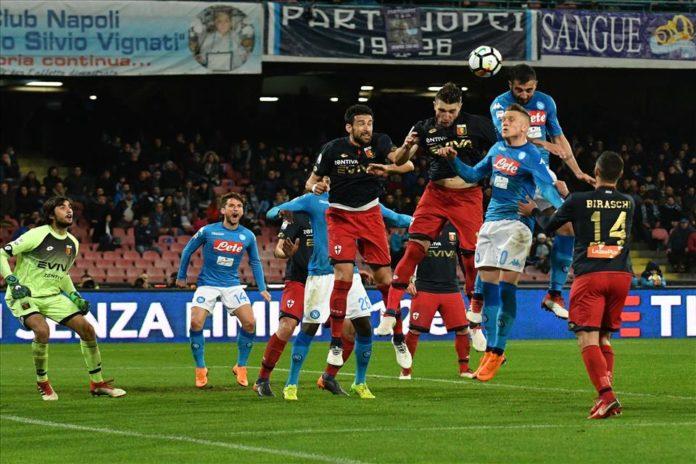 Serie A, il Calcio Napoli a -2 dalla Juve. Sarri: