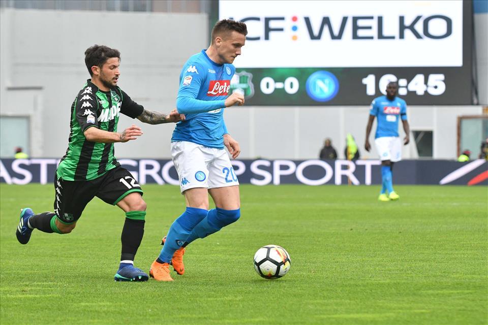 Calcio Napoli: brutto stop degli azzurri. Solo 1-1 col Sassuolo