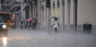 Allerta meteo prorogata fino alle 20 di questa sera in Campania