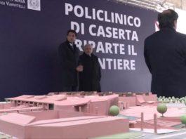 Caserta, per Pasqua chiude il cantiere del Policlinico Universitario