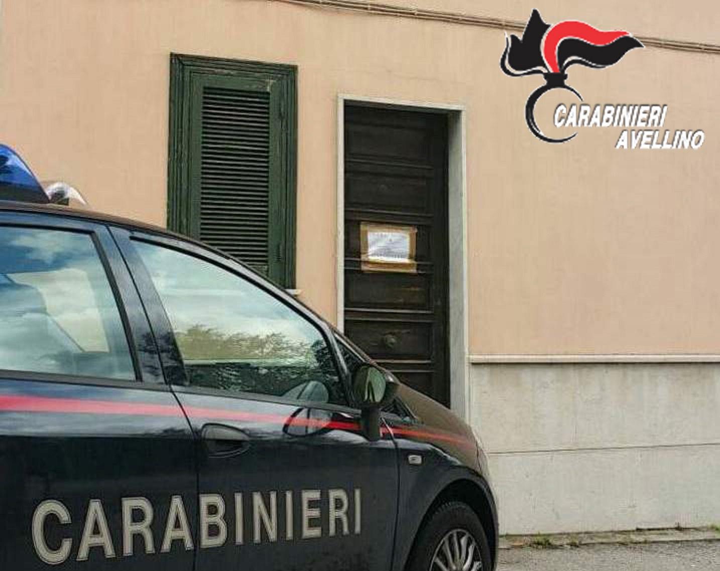 Mercogliano, Carabinieri scoprono casa di prostituzione