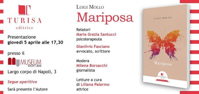 Mariposa, il nuovo libro di Luigi Mollo