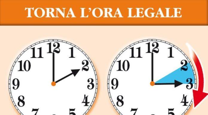 Torna l'ora legale: questa notte lancette avanti di un'ora