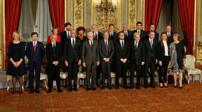 politica pubblicati i redditi dei ministri