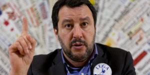 """Salvini: """"Abbiamo un piano preciso per ricucire l'Italia partendo dal Sud"""""""