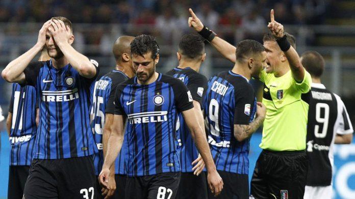 Calcio Napoli: sparito l'audio tra il VAR e l'arbitro Orsato relativo ad Inter Juventus del 2018