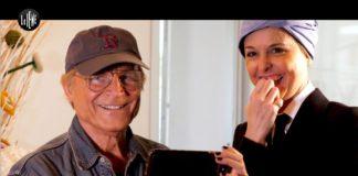 Nadia Toffa intervista Terence Hill: è la prima volta in tv senza parrucca